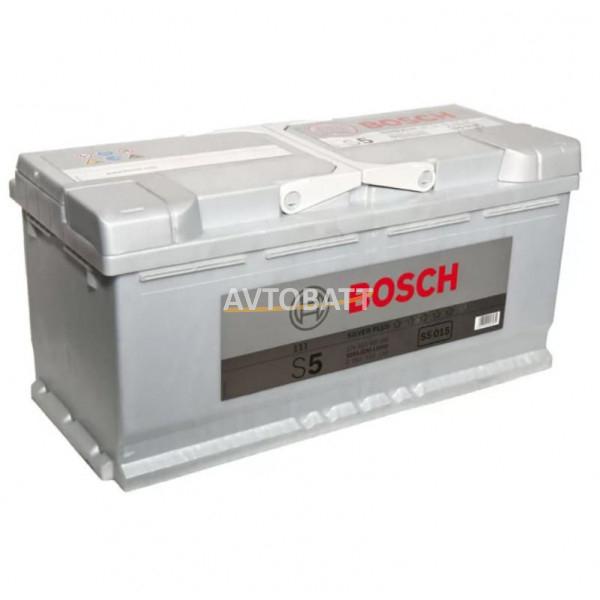 Аккумулятор BOSCH S5 SILVER PLUS 110AH