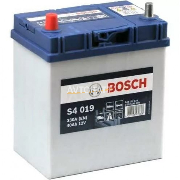 Аккумулятор BOSCH S4 SILVER 40 Asia