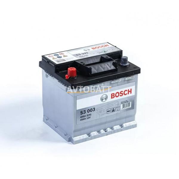 Аккумулятор BOSCH S3 45
