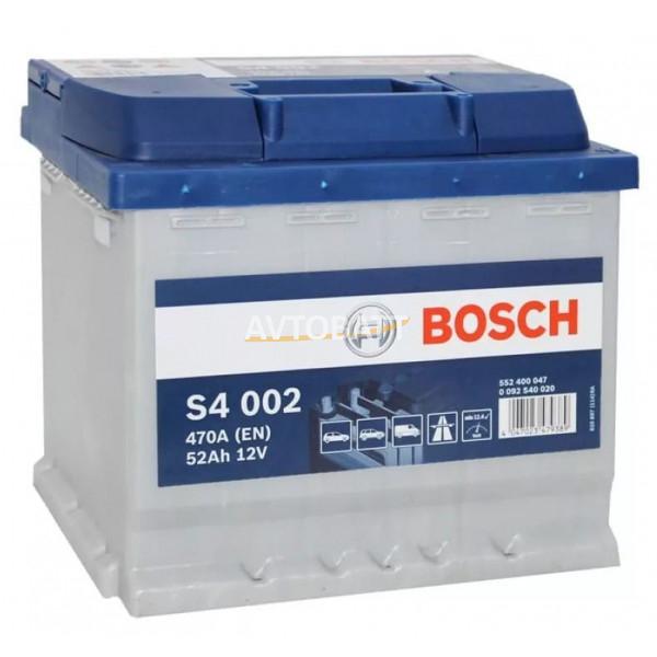 Аккумулятор BOSCH S4 SILVER 52