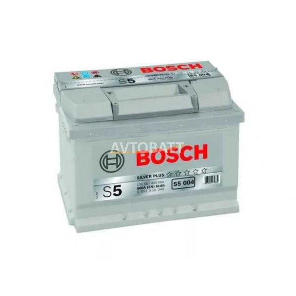 Аккумулятор BOSCH S5 SILVER PLUS 61