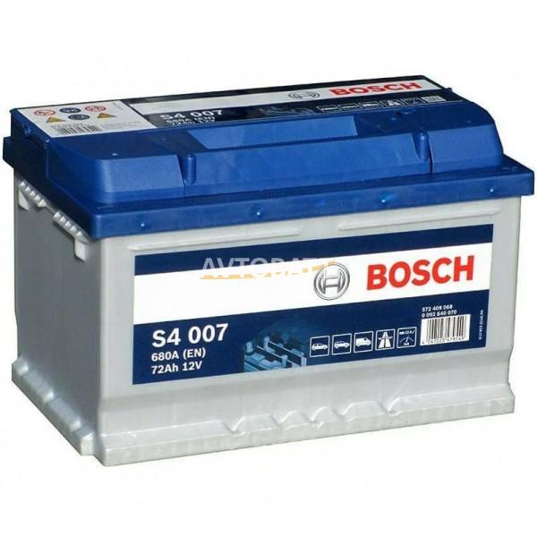 Аккумулятор BOSCH S4 SILVER 72