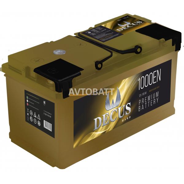Аккумулятор DECUS 6СТ-110 110 Ah (о/п)