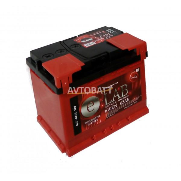 Аккумулятор ELAB 62 Ah (п/п)