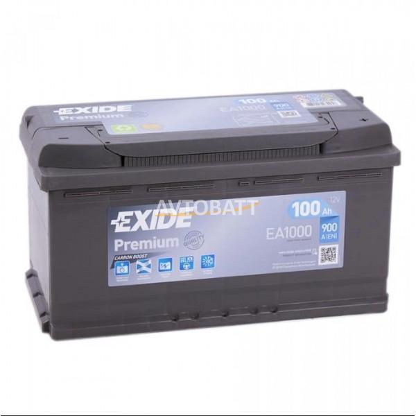 Аккумулятор EXIDE Premium EA1000