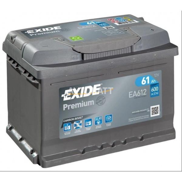 Аккумулятор EXIDE Premium EA612