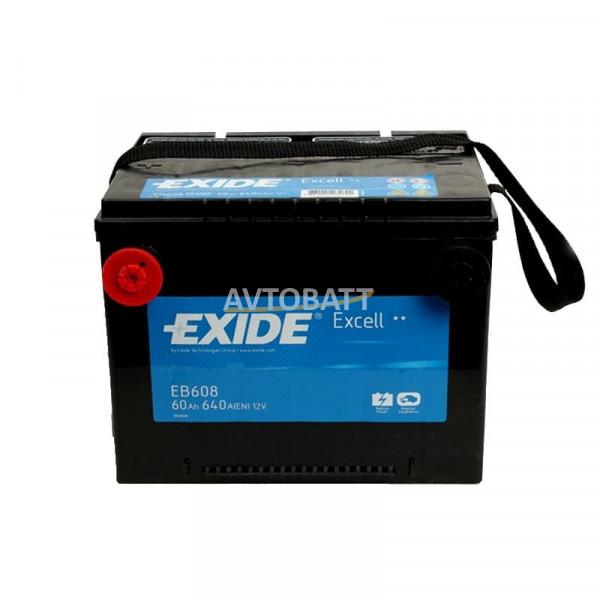 Аккумулятор EXIDE Excell EB608