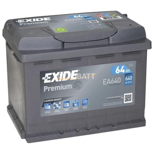 Аккумулятор EXIDE Premium EA641