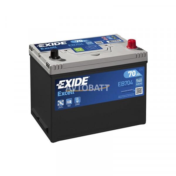 Аккумулятор EXIDE Excell EB704