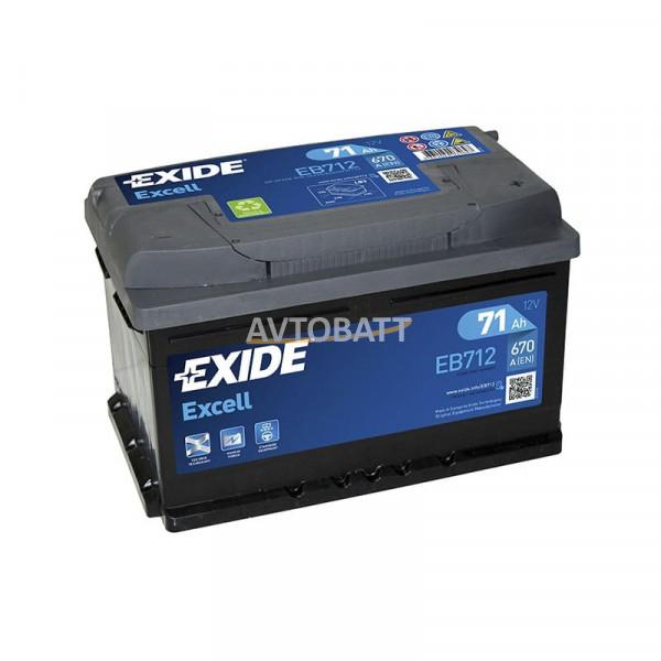 Аккумулятор EXIDE Excell EB712