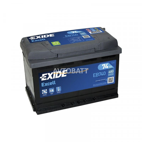 Аккумулятор EXIDE Excell EB740