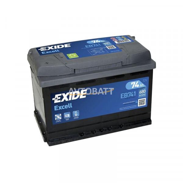 Аккумулятор EXIDE Excell EB741