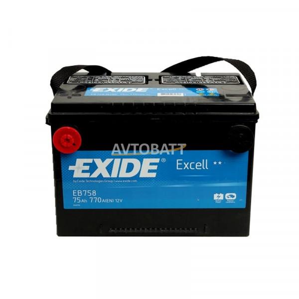 Аккумулятор EXIDE Excell EB758