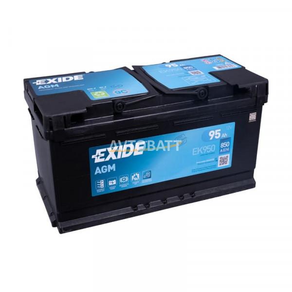 Аккумулятор EXIDE Micro-Hybride AGM Regenerative Braking EK950
