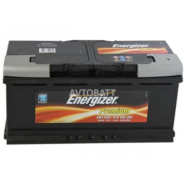 Аккумулятор Energizer 110е 610 402 092  PREMIUM EM110L6