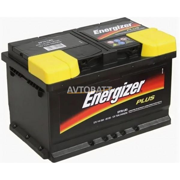 Аккумулятор Energizer 70e 570 144 064  PLUS EP70LB3