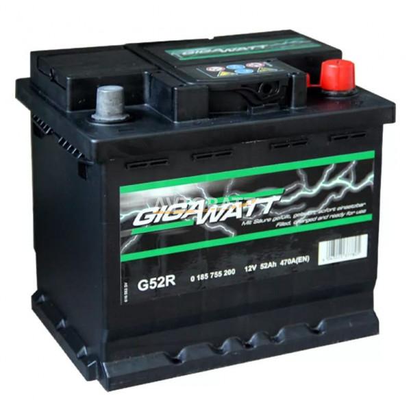 Аккумулятор Gigawatt 52e G52R / 552 400 047