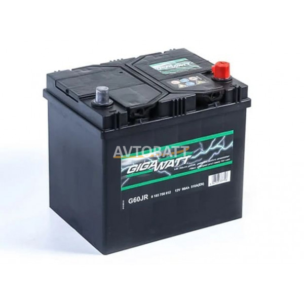 Аккумулятор Gigawatt 60e G60JR / 560 412 051