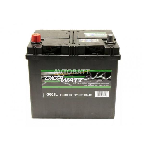 Аккумулятор Gigawatt 60 G62L / 560 127 054