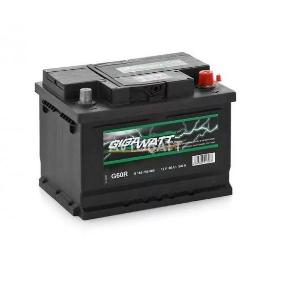 Аккумулятор Gigawatt 60e G60R / 560 409 054