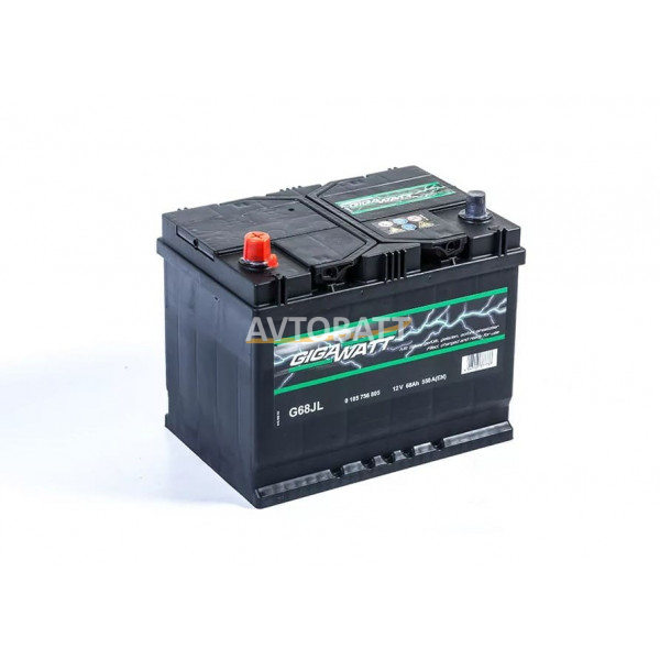 Аккумулятор Gigawatt 68 G68JL / 568 405 055