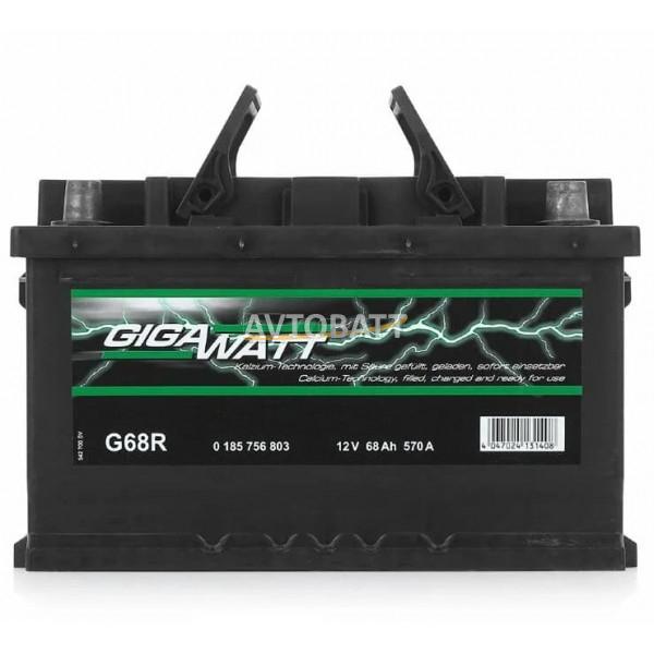 Аккумулятор Gigawatt 68e G68R / 568 403 057