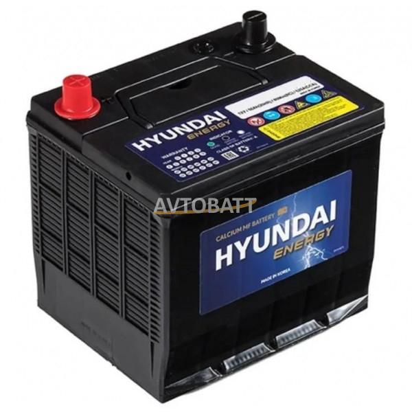 Аккумулятор HYUNDAI 50 80RC 26-525 (нижн.крепл.)  Energy