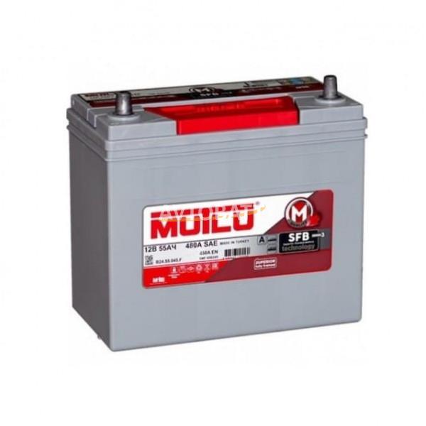 Аккумулятор MUTLU 55Ач B24.55.045.F