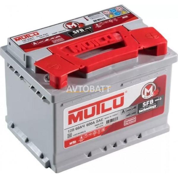 Аккумулятор MUTLU 60e D23.60.052.A ниж.кр.