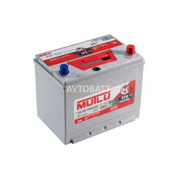 Аккумулятор MUTLU 70е D26.70.054.C - 12V 70 Ah 540 (EN) н.кр.