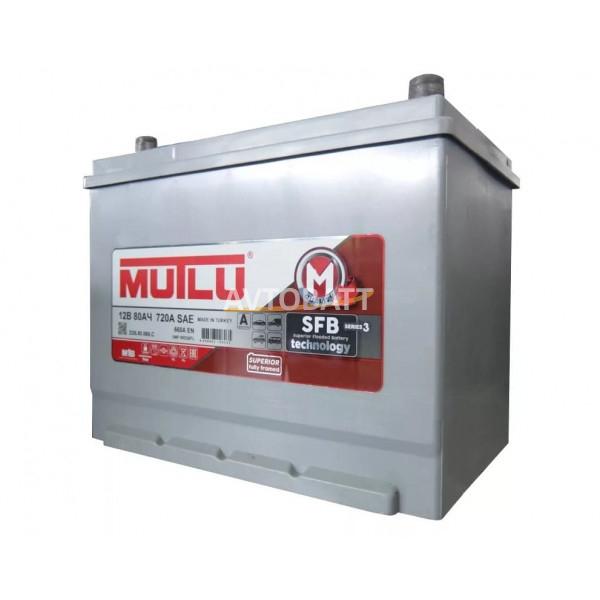 Аккумулятор MUTLU 80е D26.80.066.C - 12V 80 Ah 660 (EN) н.кр.