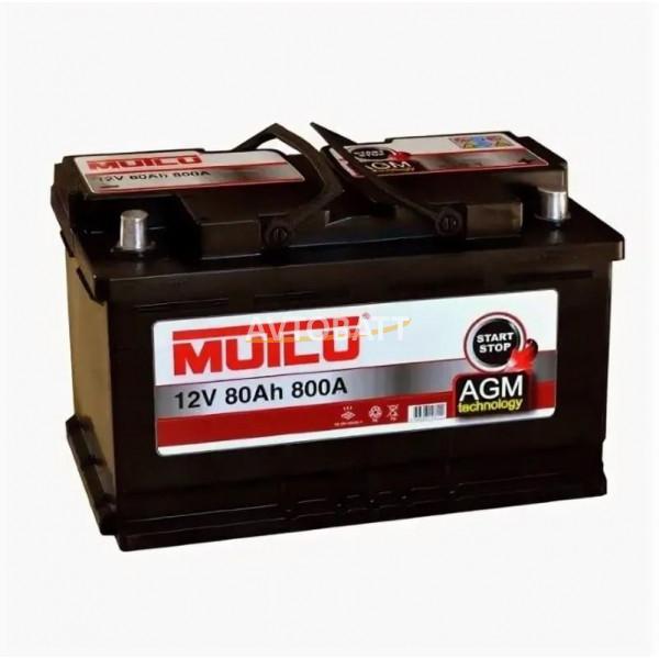 Аккумулятор MUTLU 80e AGM L4.80.080.A -12V 80 Ah 800 (EN)