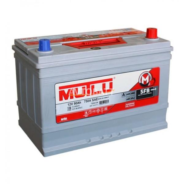 Аккумулятор MUTLU 90 D31.90.072.D -12V 90 Ah 720 (EN) н.кр.