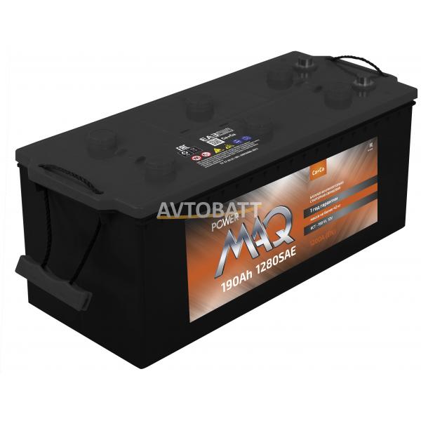 Аккумулятор Power MAQ 6СТ-190 190 Ah (п/п)