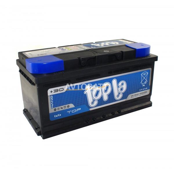 Аккумулятор TOPLA TOP низкий 100 Ah (о/п)