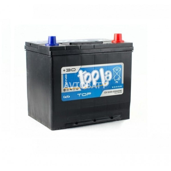 Аккумулятор TOPLA TOP ASIA 65 Ah (о/п)