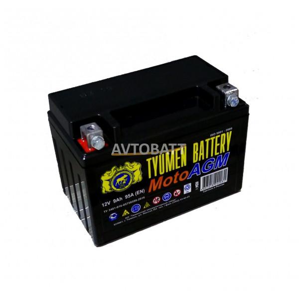 Аккумулятор Мото TYUMEN 6МТС-9 AGM 9Ah(е)