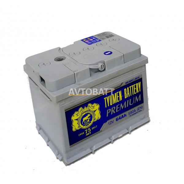 Аккумулятор TYUMEN PREMIUM 64 Ah (п/п)