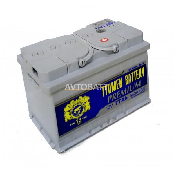 Аккумулятор TYUMEN PREMIUM 77 Ah (о/п)