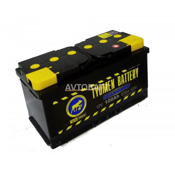Аккумулятор TYUMEN STANDART 100 Ah (о/п)