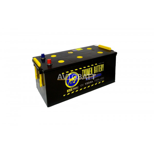 Аккумулятор TYUMEN STANDART 190 Ah (п/п)