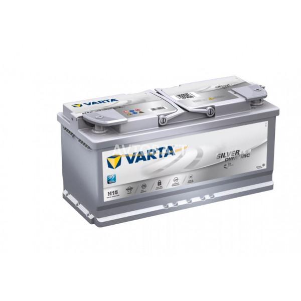 Аккумулятор VARTA 105e 605 901 095 Silver dynamic AGM (H15)