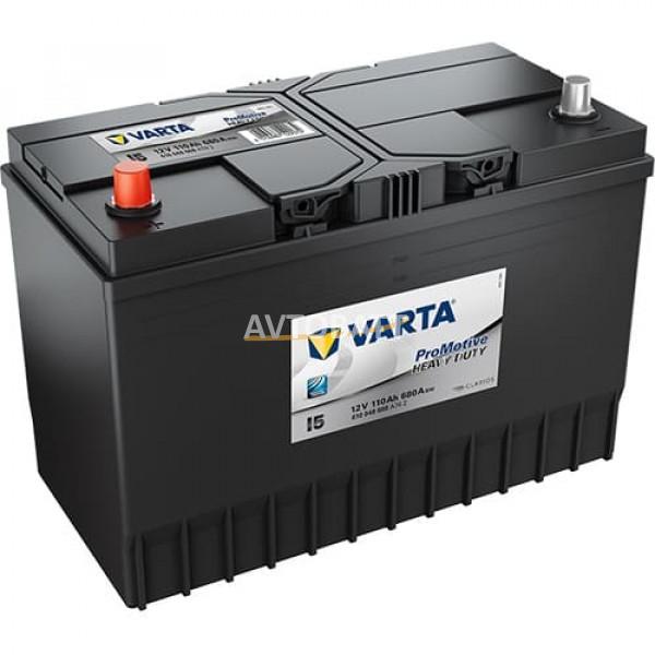 Аккумулятор VARTA 110 610 048 068 Promotive Black-110Ач (I5)
