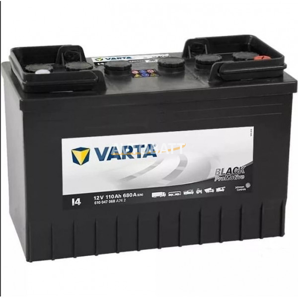 Аккумулятор VARTA 110e 610 047 068 Promotive Black-110Ач (I4)
