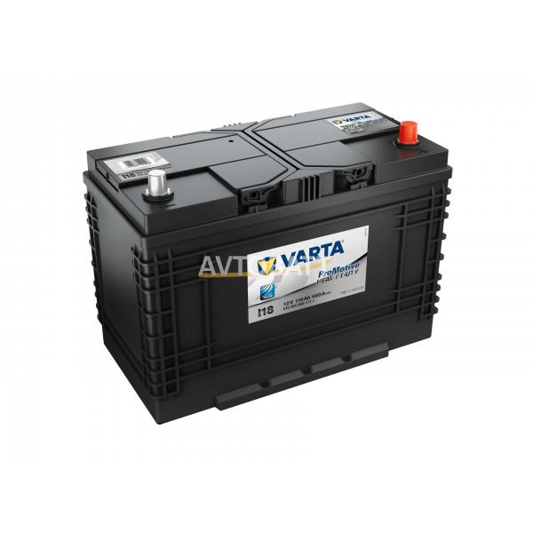 Аккумулятор VARTA 110e 610 404 068 Promotive Black-110Ач (I18)