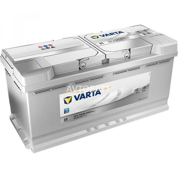 Аккумулятор VARTA 110e 610 402 092 Silver dynamic-110Ач (I1)