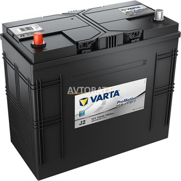 Аккумулятор VARTA 125 625 014 072 Promotive Black-125Ач (J2)