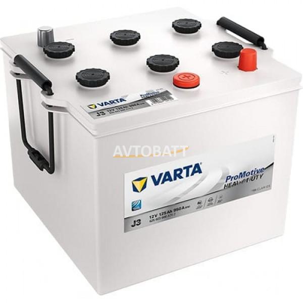 Аккумулятор VARTA 125е 625 023 000 Promotive Black -125Ач (J3)