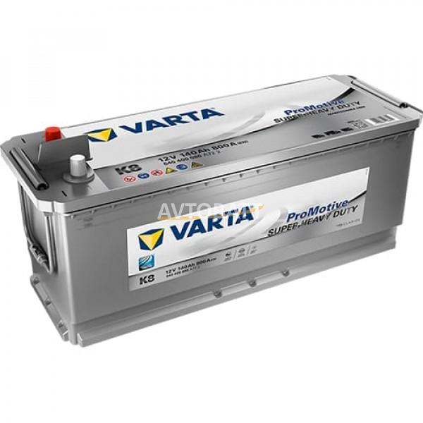 Аккумулятор VARTA 140е 640 400 080 Promotive Blue -140Ач (K8)