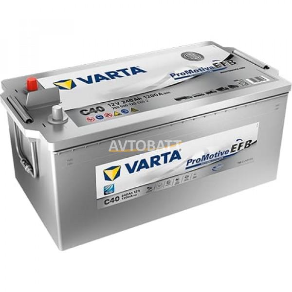 Аккумулятор VARTA 240e 740 500 120 Promotive EFB-240Ач (C40)